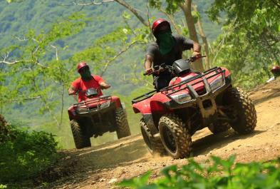 Tours in Puerto Vallarta Single Atv - River Route