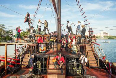 Tours in Puerto Vallarta Pirate Experience In Majahuitas Island