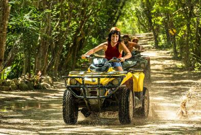 Tours in Cancún and Riviera Maya Emotions Native Park Tour/ Con Transporte (moto Doble)