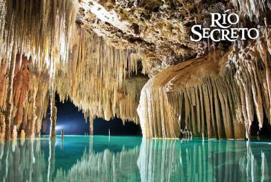 Tours in Cancún and Riviera Maya Rio Secreto Regular Con Transp Cun