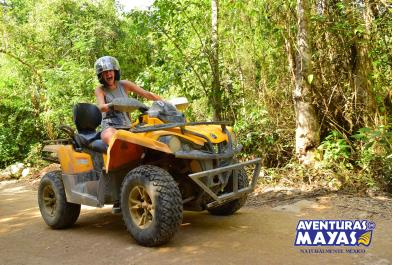Tours in Cancún and Riviera Maya Xtreme Zip Lines And Single Atv Rm