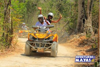 Tours in Cancún and Riviera Maya Atv Xtreme  Zip Line - Double - Cun