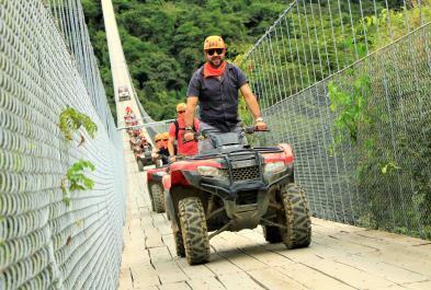Single Atv - Jorullo Bridge - Last Minute Tours in Puerto Vallarta