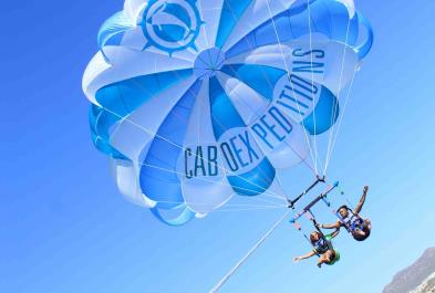 Parasailing Double In Cabo! - Los Cabos sightseeing and activities