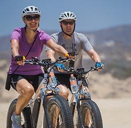 Electric Bike Beach Adventure