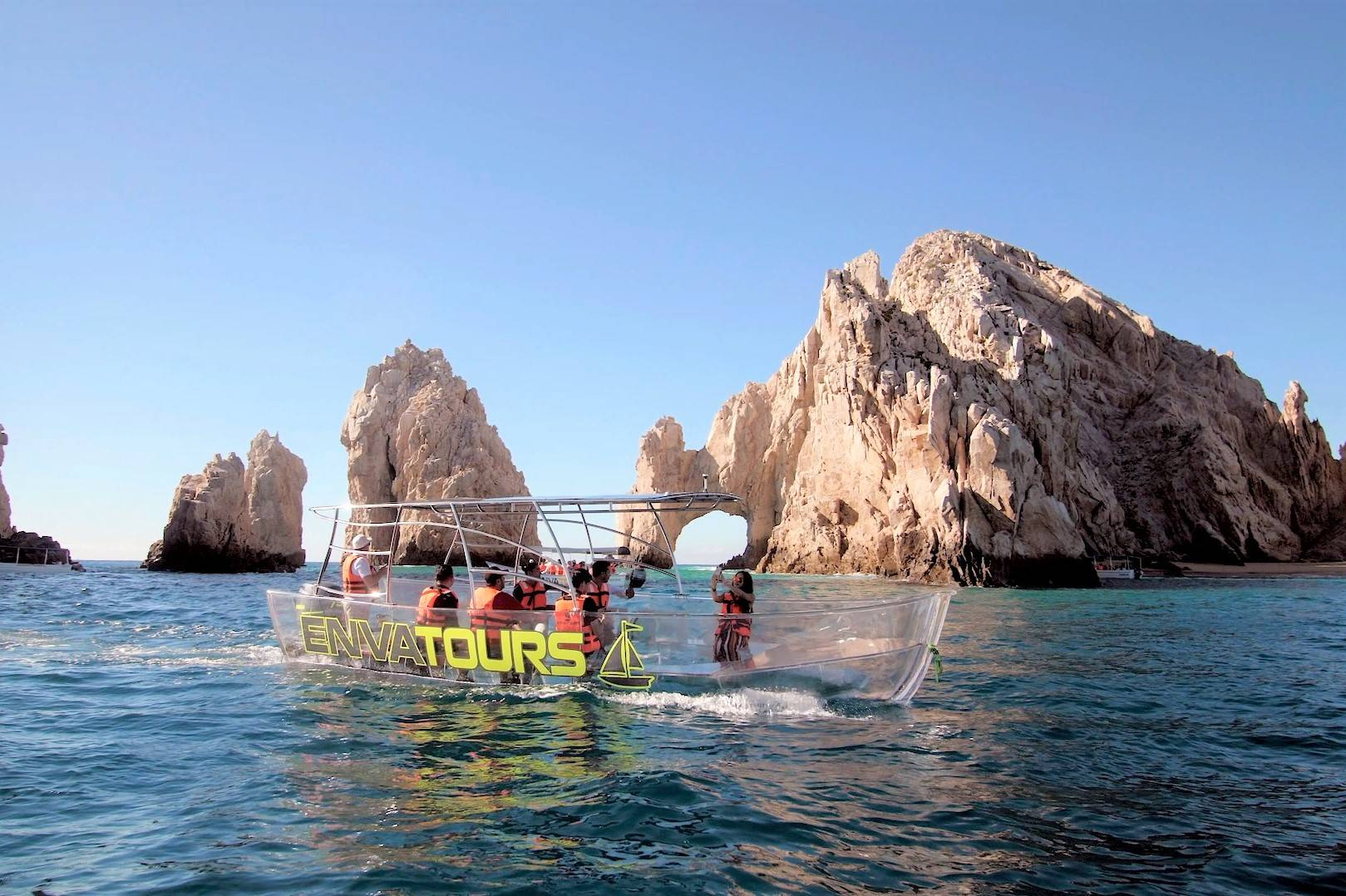 Clear Boat Ride In Cabo - Last Minute Tours in Los Cabos