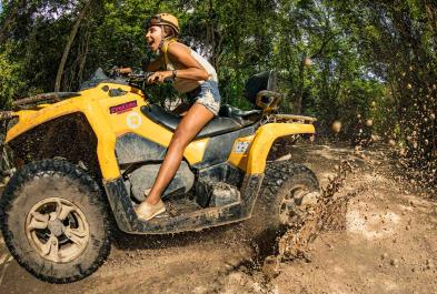 Tours in Cancún and Riviera Maya Emotions Native Park Tour/ Con Transporte (moto Indiv)