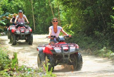 Tours in Cancún and Riviera Maya Atv Single And Cenote