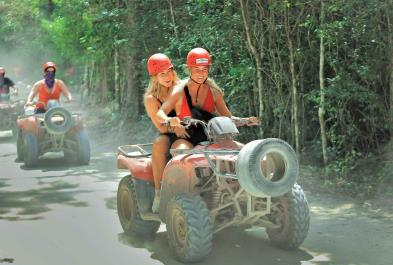 Tours in Cancún and Riviera Maya Atv Double And Cenote
