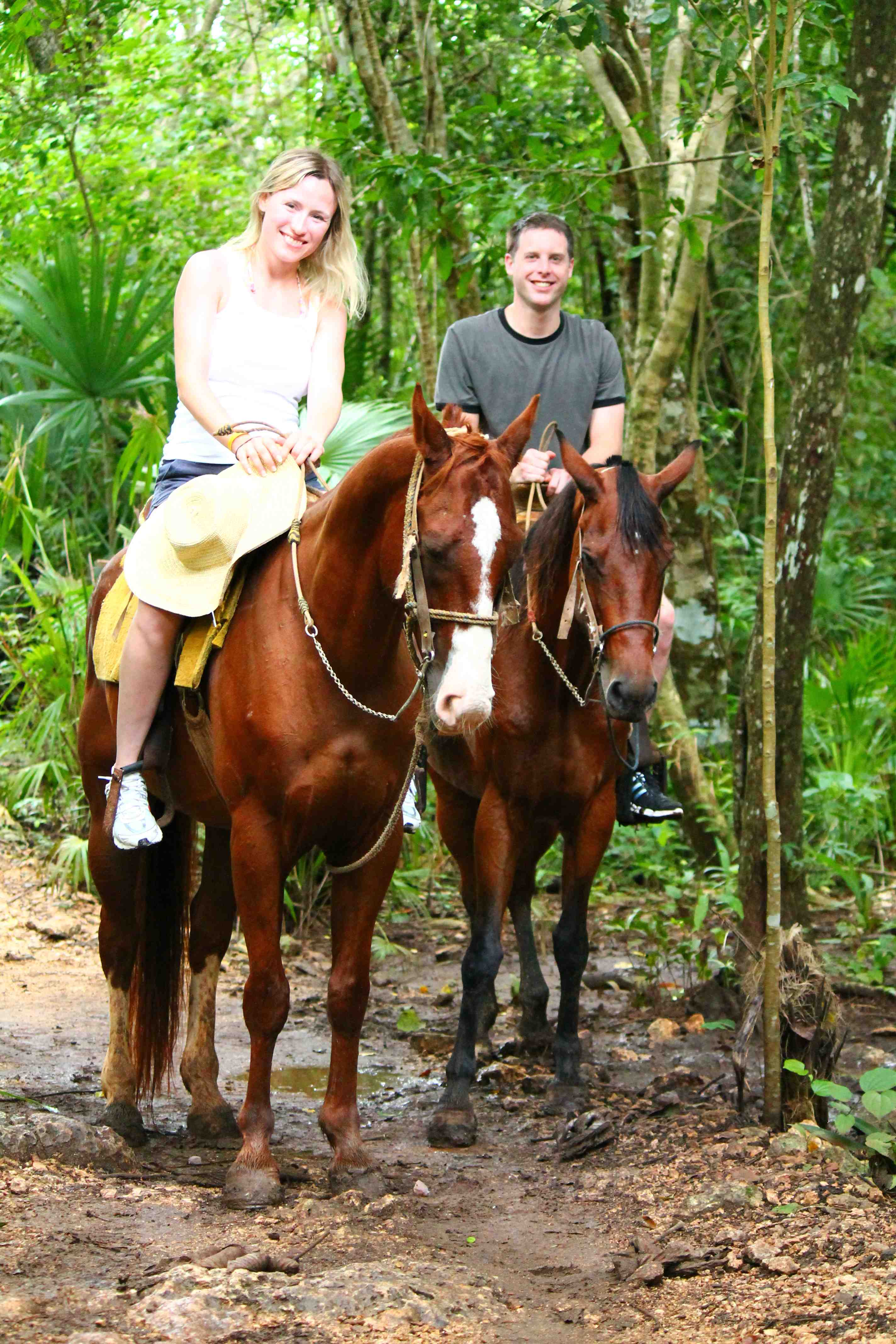 Horseback Rinding And Cenote Tour - Last Minute Tours in Cancún and Riviera Maya