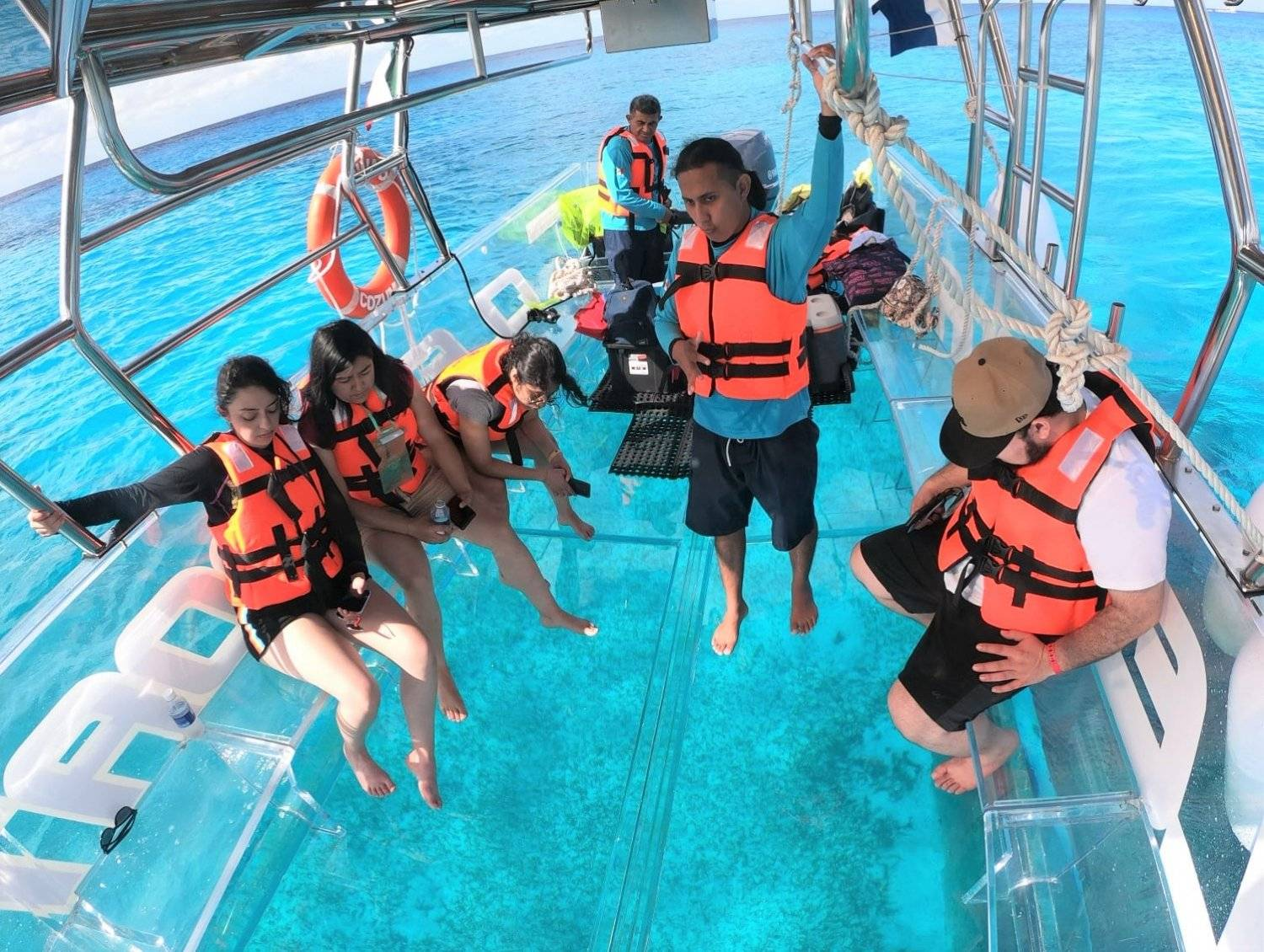 Cozumel Clear Boat - Last Minute Tours in Cancún and Riviera Maya