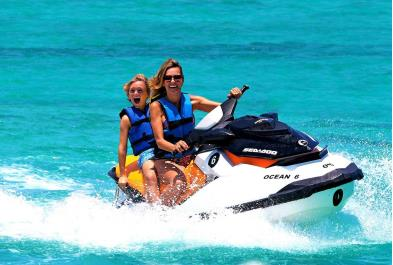 Tours in Cancún and Riviera Maya Double Waverunner